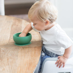 Baby Suction Bowl - Peas