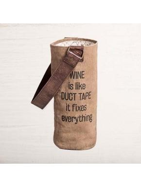 Recycled Wine Bag - Multiple Great Sayins