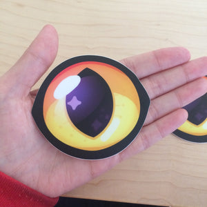 Huge Cat Eye Sticker