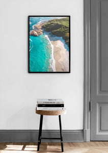 Waterfall Beach, William Bay National Park, Western Australia. Aerial Print Aerial Poster Drone Photography Print Store. Fine Art Prints. Aerial Photography - Drone Photography. Property of Aerial Waves