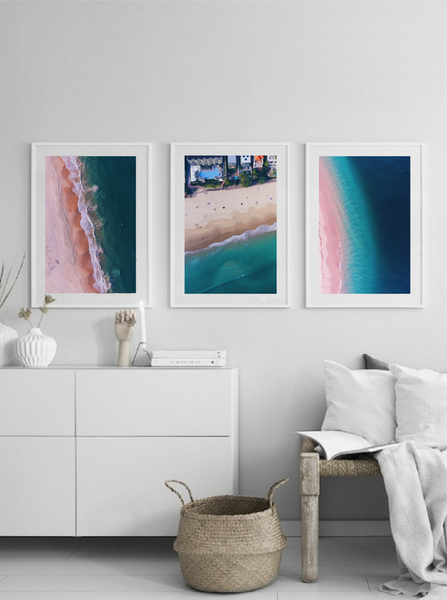 Rainbow Beach, QLD, Noosa Beach, Waves, Queensland, Australia. Aerial Print Aerial Poster Drone Photography Print Store. Fine Art Prints. Aerial Photography - Drone Photography. Property of Aerial Waves