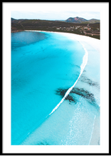 Lucky Bay, Esperance, Western Australia. Aerial Print Aerial Poster Drone Photography Print Store.