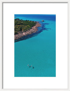 Meelup Beach, Two Kayaks, Western Australia. Aerial Print Aerial Poster Drone Photography Print Store.