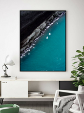 Drone Photography Iceland Beach - Fine Art Prints - Aerial Photography - Interior Design Decoration