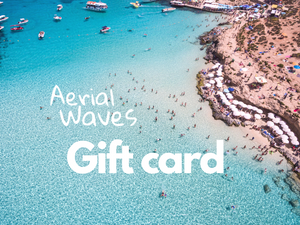 Gift Card. Aerial Waves. Aerial Print Aerial Poster Drone Photography Print Store.