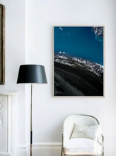 Fine Art Prints Iceland Beach Frame - Interior Design - Decoration - Minimalist - Aerial Photography - Drone Photography