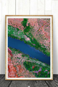 Lake Argyle, Kimberley, Northern Territory, Australia. Aerial Print Aerial Poster Drone Photography Print Store.