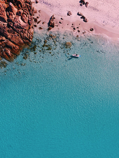 Meelup Beach, Southwest, Dunsborough, Western Australia. Aerial Print Aerial Poster Drone Photography Print Store. Fine Art Prints Australian Western Australia Beach. Aerial Photography - Drone Photography. Property of Aerial Waves