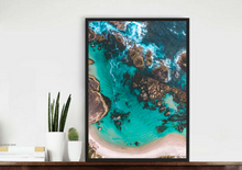 Drone Photography Australia Greens Pools Beach - Fine Art Prints - Aerial Photography - Interior Design Decoration