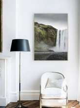Skogafoss Waterfall, Iceland. Aerial Print Aerial Poster Drone Photography Print Store. Fine Art Prints. Aerial Photography - Drone Photography. Property of Aerial Waves