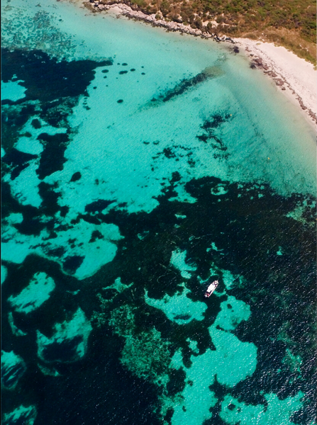 Carnac Island, Perth, Western Australia. Aerial Print Aerial Poster Drone Photography Print Store.