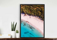 Meelup Beach Aerial Print Photography Poster South Western Australia