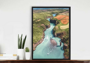 Icelandic Rivers. Aerial Print Aerial Poster Drone Photography Print Store.
