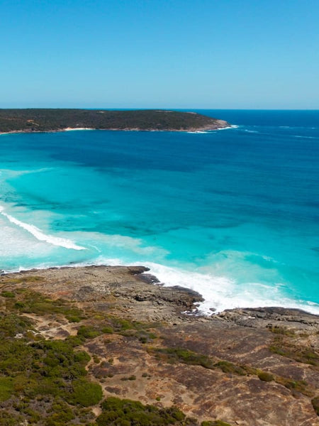 Native Dog Beach Western Australia Aerial Print Aerial Poster Drone Photography Australia Shop.