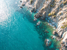 Cala del Cañuelo, Costa del Sol, Andalucia, Spain. Aerial Print Aerial Poster Drone Photography Print Store.