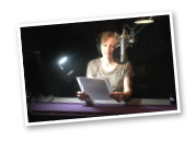Karen Behnke Recording Audio