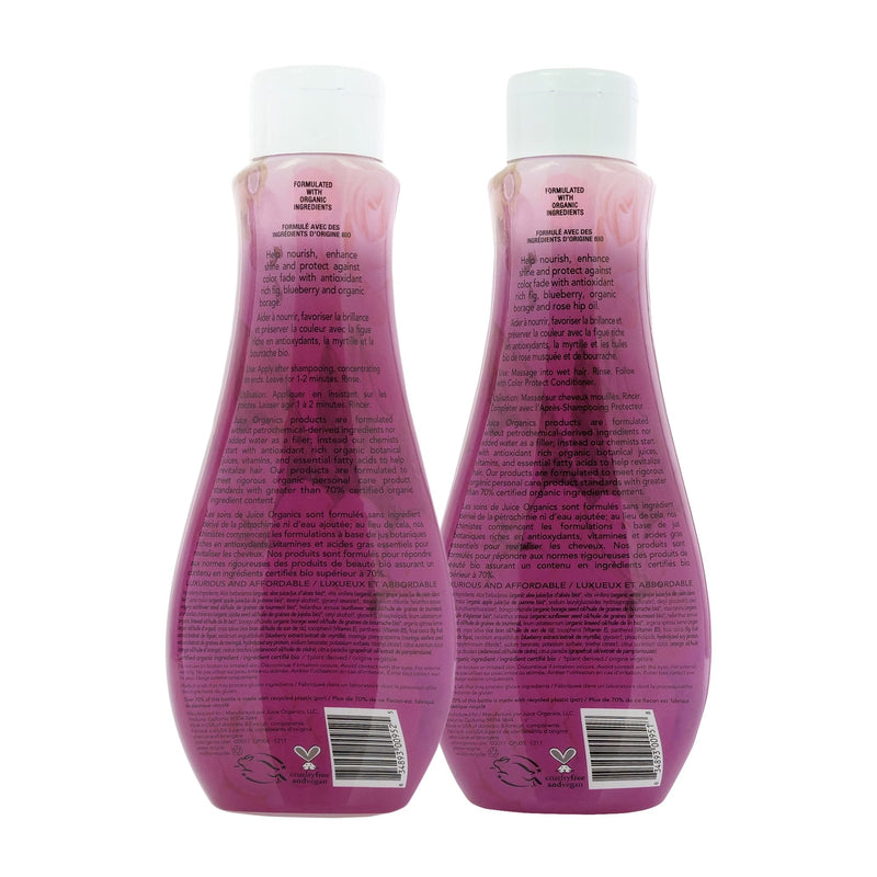 Juice Organics Rose Fig Color Protect Bundle