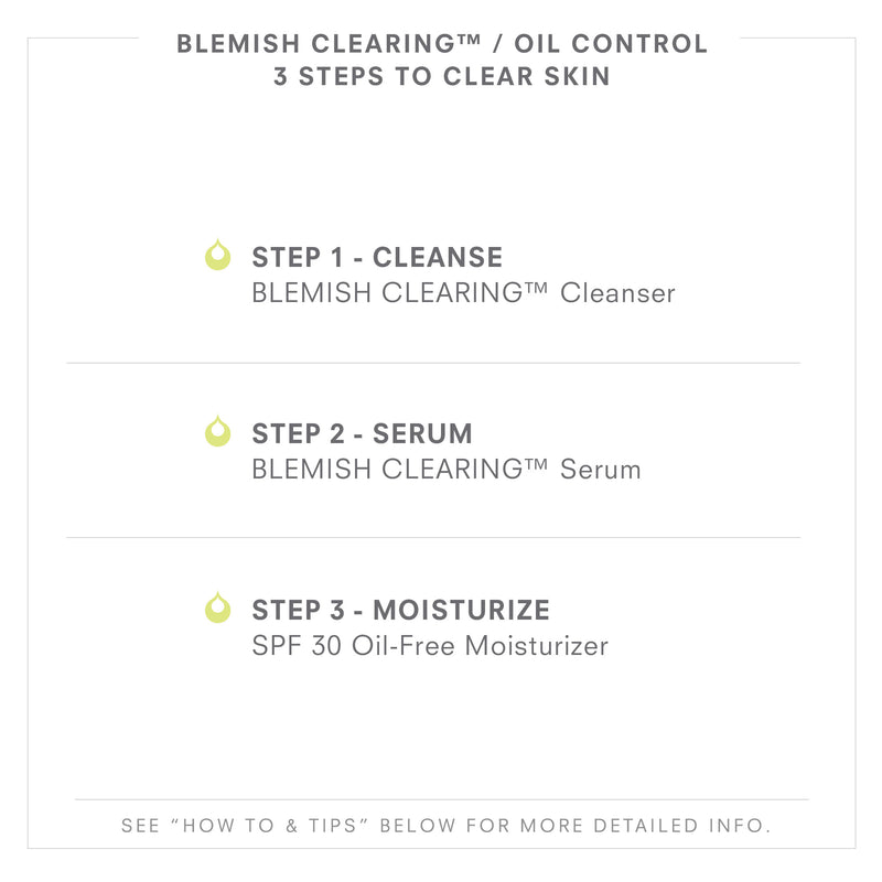 BLEMISH CLEARING/Oil Control 3 Steps To Clear Skin