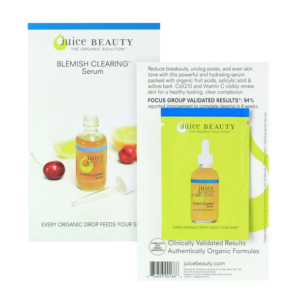 Juice Beauty Blemish Clearing Serum Free Sample