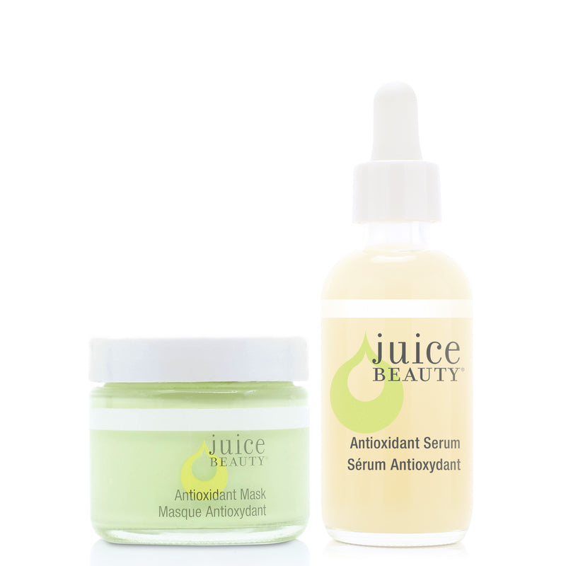 Essential Antioxidant Duo. Includes: Antioxidant Mask and Antioxidant Serum.