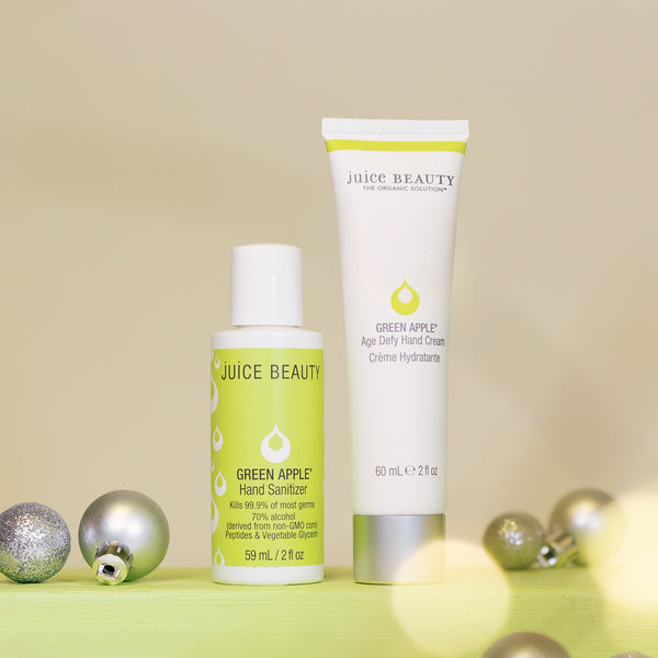 Green Apple Hand Cream & Hand Sanitizer On-the-Go Set