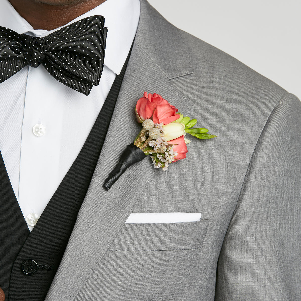 How To Put On Your Boutonniere For Prom