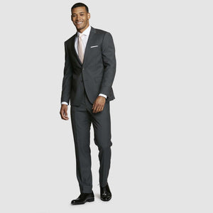 Dark Grey Prom Dress Pants