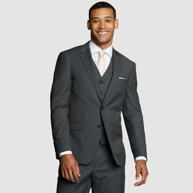 Dark Grey Prom Suit Jacket