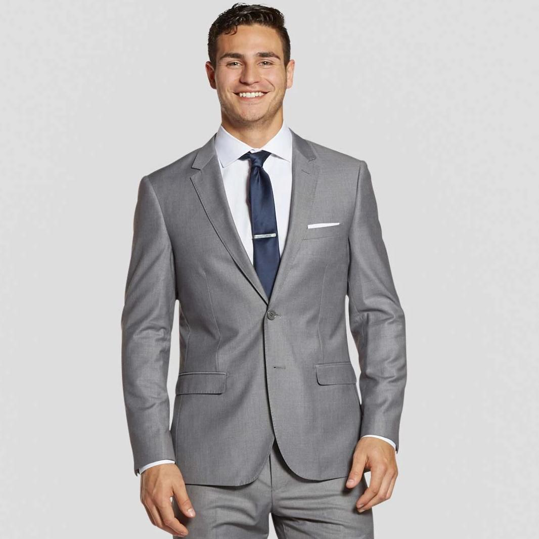 Light Grey Prom Suit Jacket