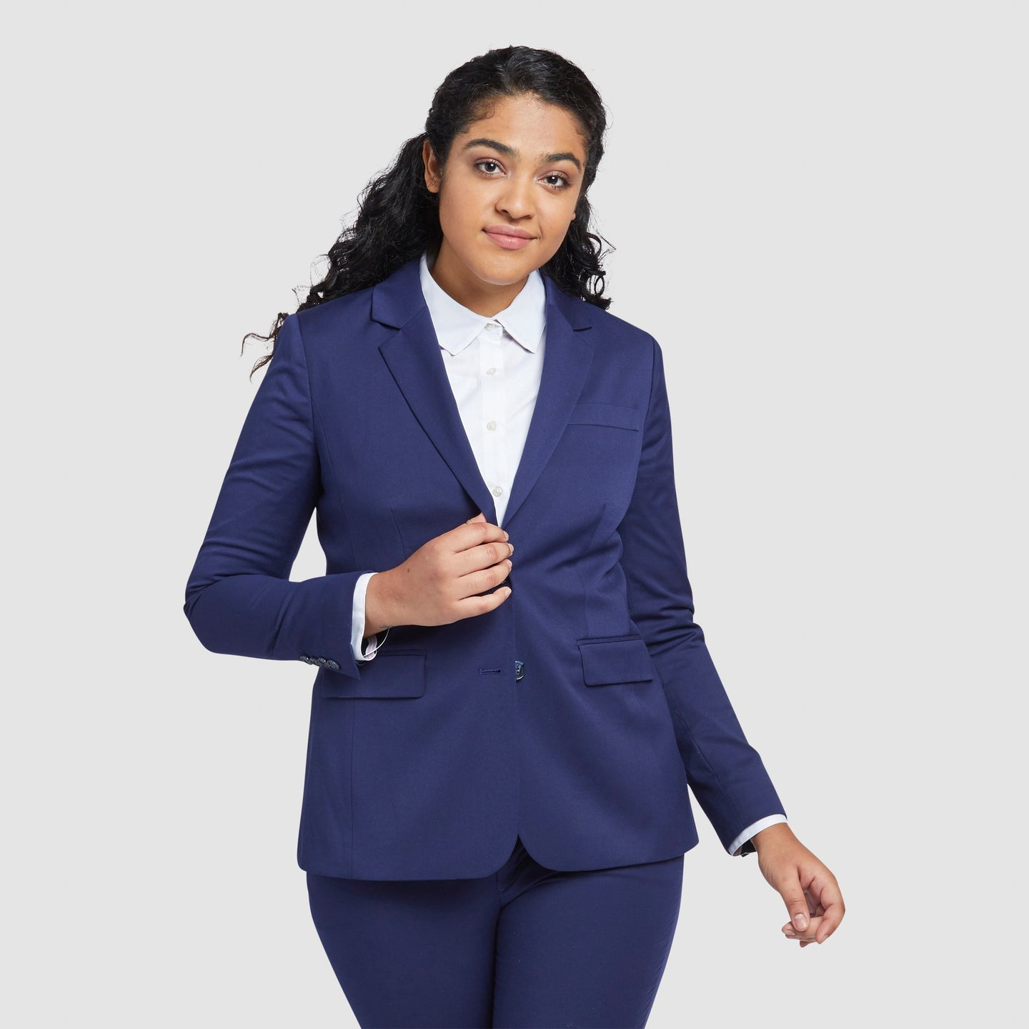 Women's Royal Blue Prom Suit Jacket