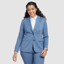 Load image into Gallery viewer, Women's Light Blue Prom Suit
