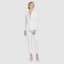 Load image into Gallery viewer, Women's White Prom Tuxedo Jacket