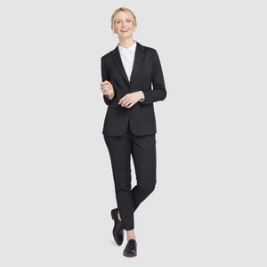 Women's Black Prom Suit Jacket
