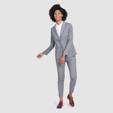 Load image into Gallery viewer, Women's Light Grey Prom Suit