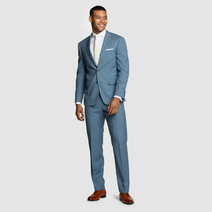 Light Blue Prom Suit Jacket