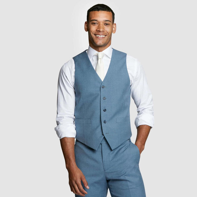 Light Blue Prom Vest