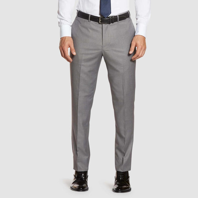 Light Grey Prom Dress Pants