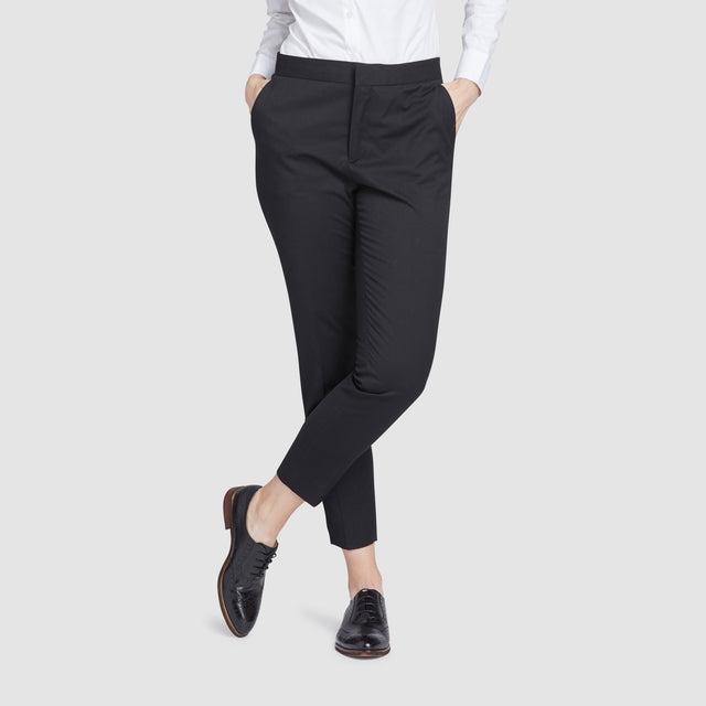 Women's Black Prom Suit Pants