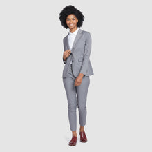 Load image into Gallery viewer, Women's Light Grey Prom Suit Pants