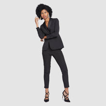 Load image into Gallery viewer, Women's Black Prom Tuxedo Jacket