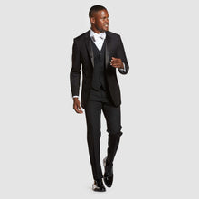 Load image into Gallery viewer, Black Prom Tuxedo Pant