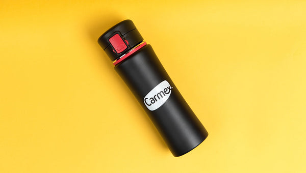 Carmex Flip Top Lid Water Bottle