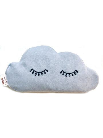 Lavender Eye Cloud Pillow