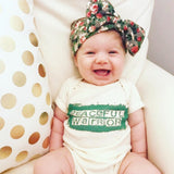 Peaceful Warrior Baby Bodysuit