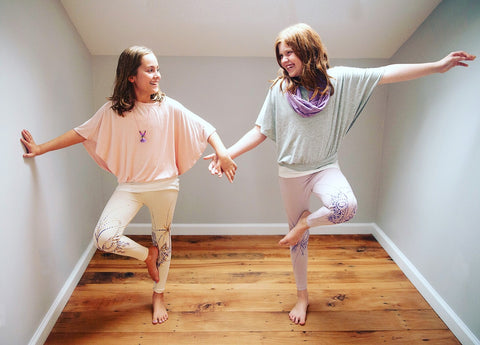 Luxe Yoga Top for Girls