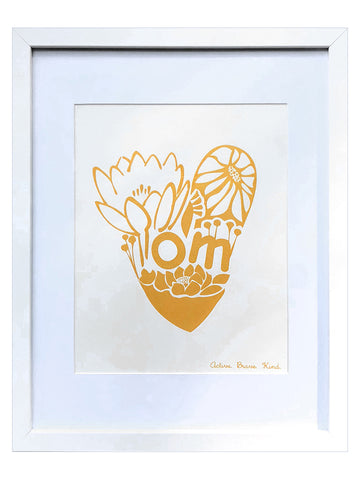 Om Print - Nursery Wall Art