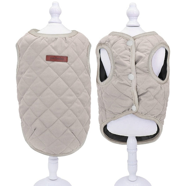 Warm Winter Pet Jacket for Small Dogs