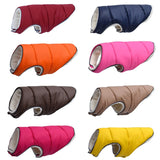 Warm Winter Dog Clothes Reflective Puppy Clothing Vest Comfortable Fleece Pet Jacket  Coat For Small Medium Large #15