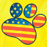 Yellow Paw Freedom Shirt