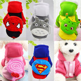 Warm Pet Dog Clothes Winter Pocket Hoodie Clothing For Dog Costumes Thickening Cute Puppy Clothes For Small Dog Pet Roupa 21S1
